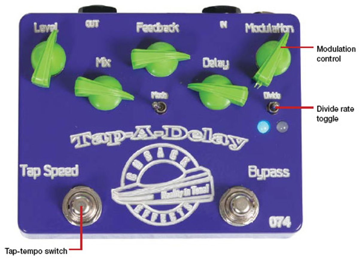 Cusack Effects Tap-A-Delay Pedal Review