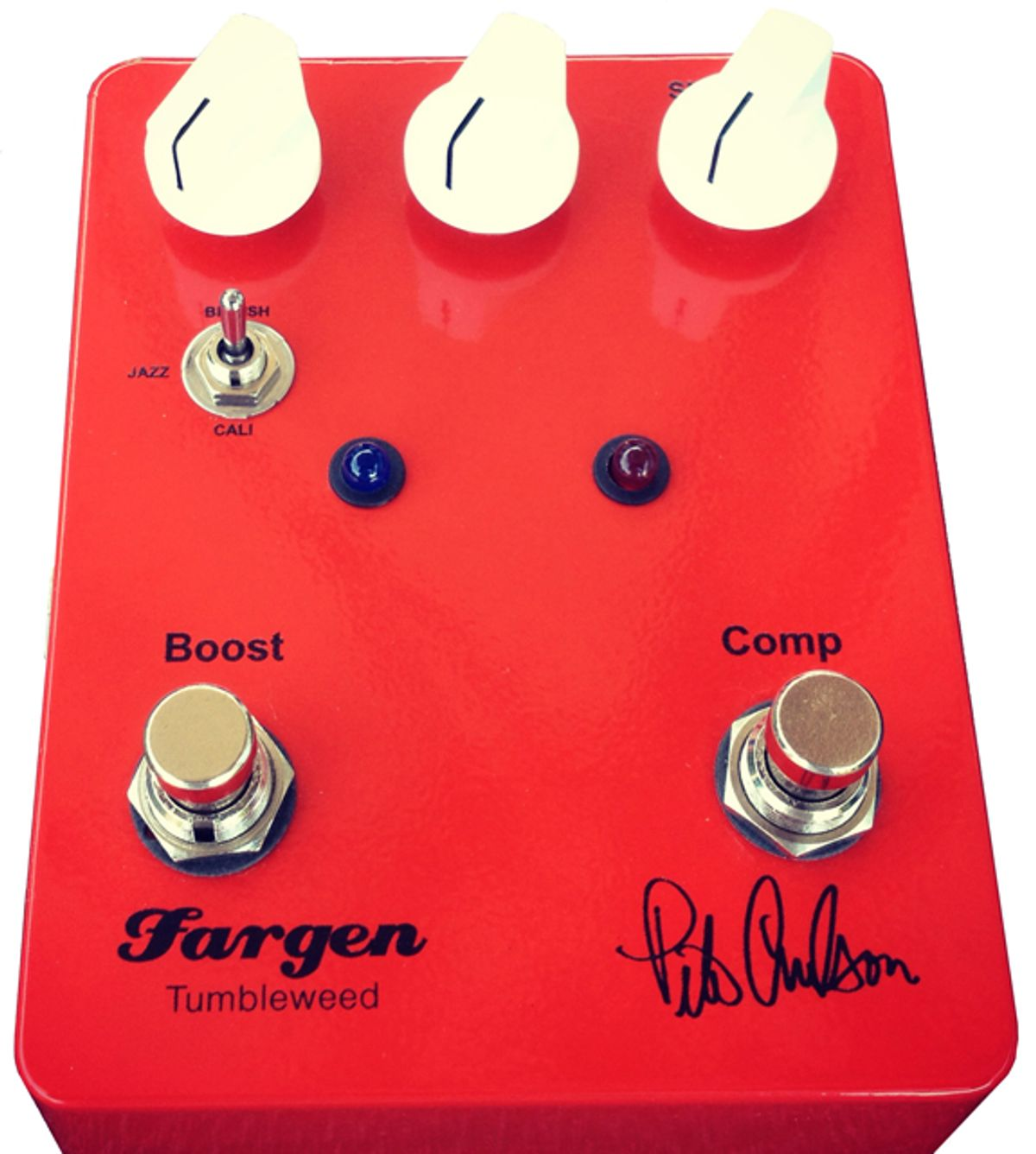 Fargen Releases the Pete Anderson Tumbleweed Pedal