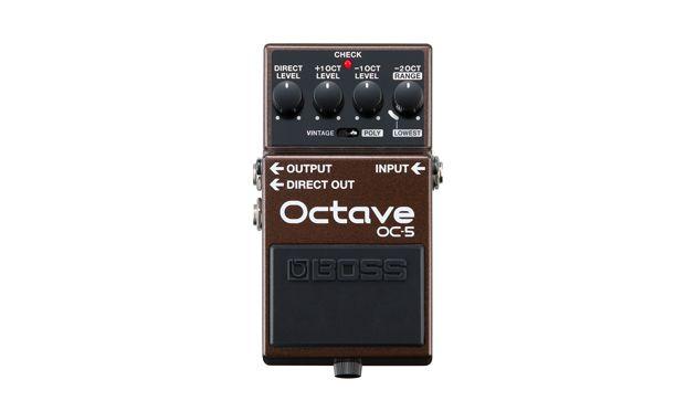 Boss Announces the OC-5 Octave Pedal