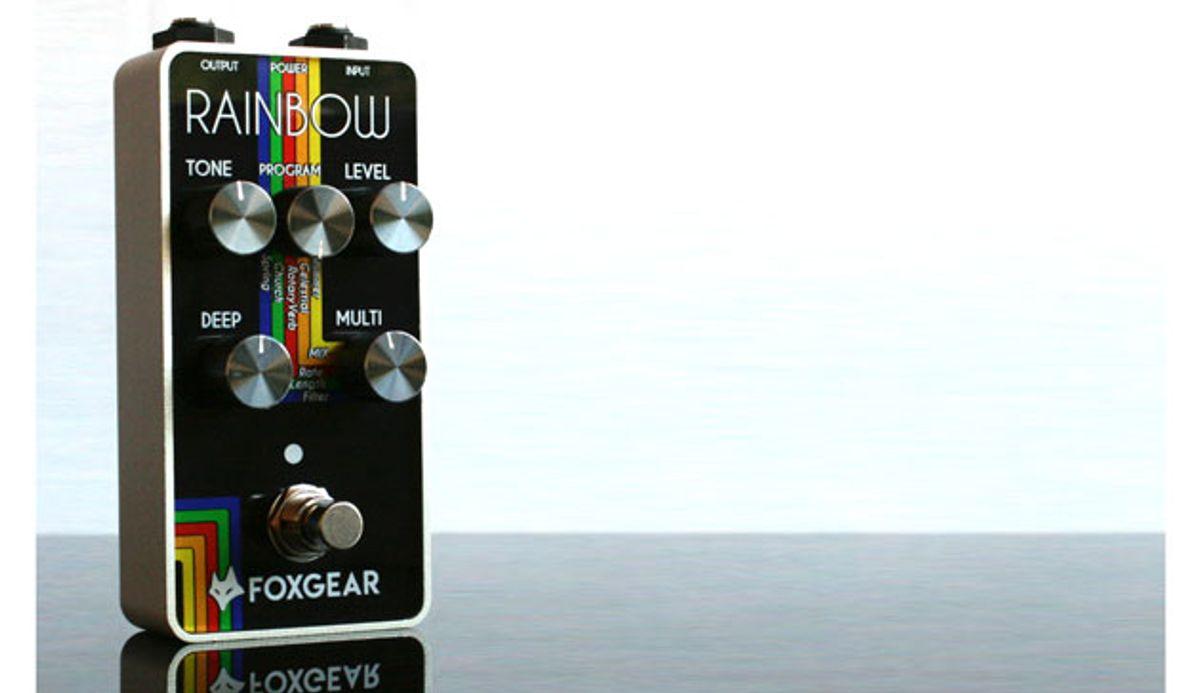 FoxGear Presents the Rainbow Digital Reverb