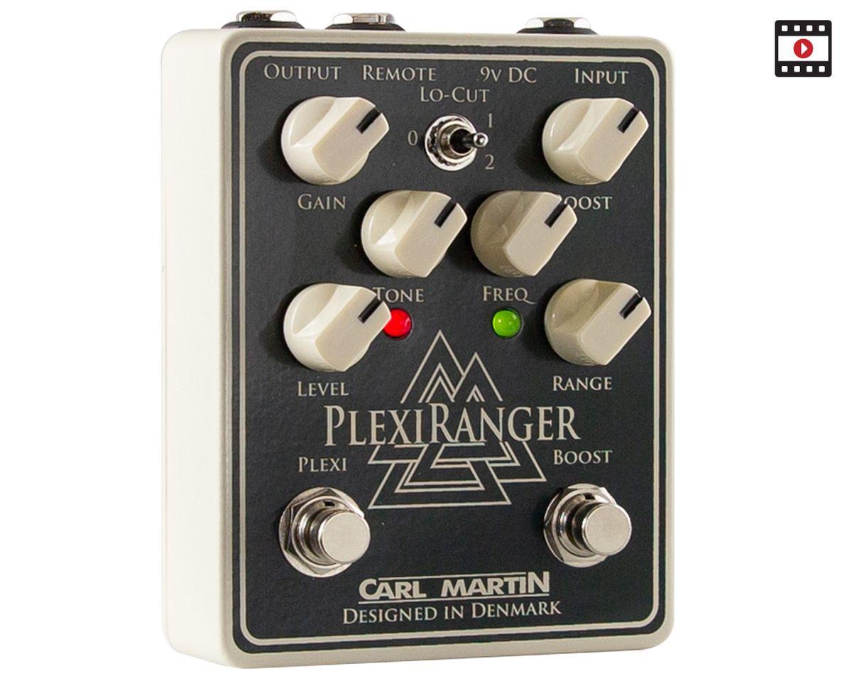 Plexi Punch Meets Rangemaster Burn: The Premier Guitar Carl Martin PlexiRanger Review