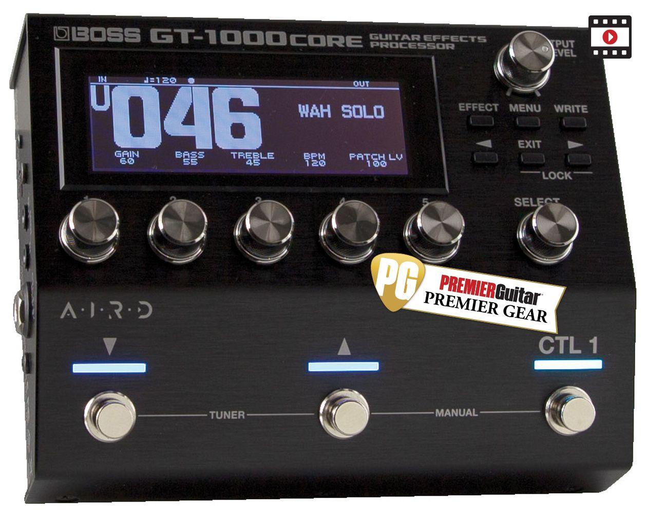 Boss GT-1000CORE: The Premier Guitar Review