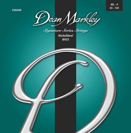 Dean Markley Announces New Signature Series Bass Strings