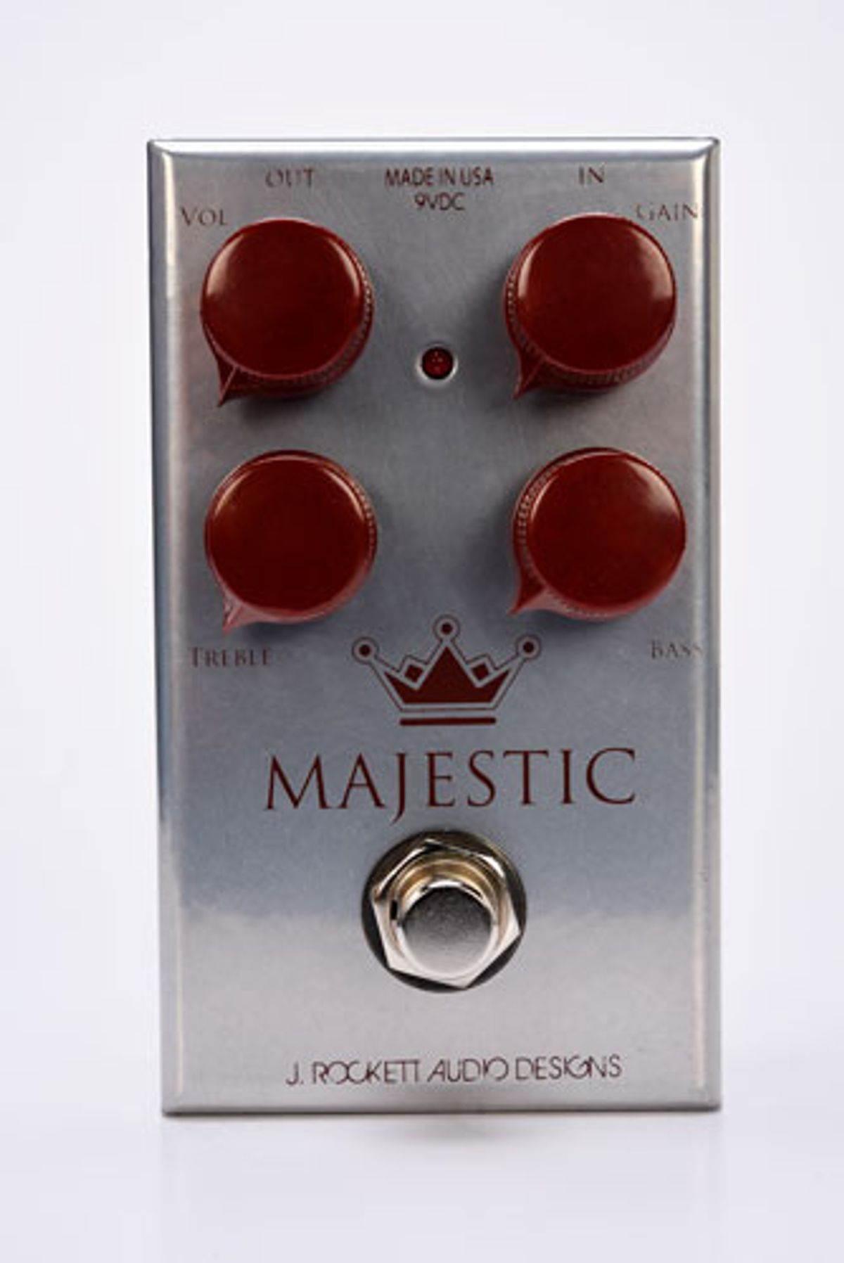 J. Rockett Audio Designs Releases the Majestic Overdrive