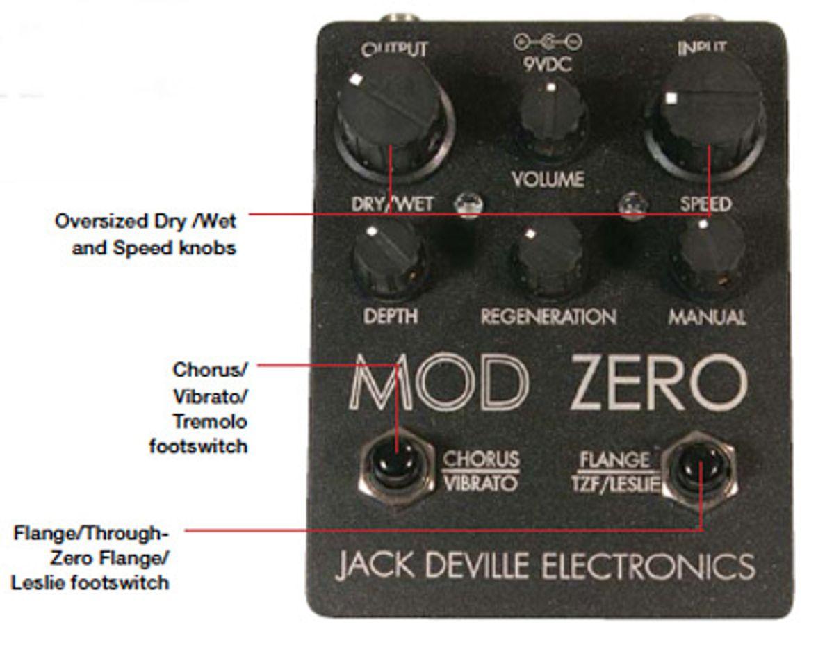 Jack Deville Electronics Mod Zero Pedal Review