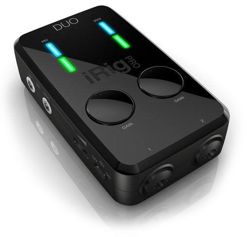 IK Multimedia Releases the iRig Pro Duo