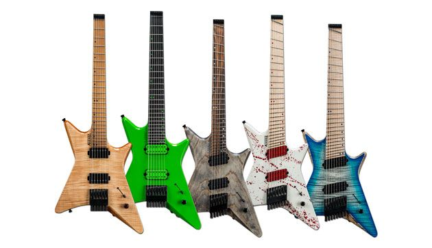 Kiesel Guitars Introduces the Type-X Series