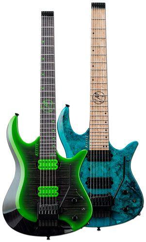 Kiesel Guitars Announces Lee McKinney Signature Models