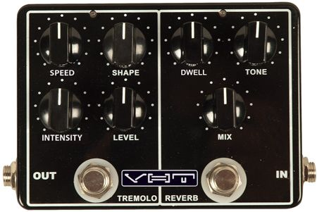 VHT Introduces the Melo-Verb Vintage-Style Tremolo and Reverb Pedal