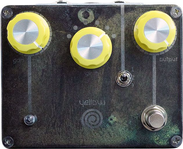 Spiral Electric FX Releases the Yellow Spiral Drive