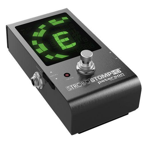 Peterson Tuners Launches the Strobostomp HD