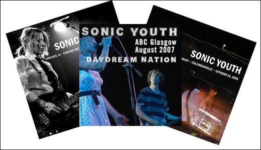 Sonic Youth Releases Live Archival Releases to Celebrate 30th Anniversary of 'Daydream Nation'