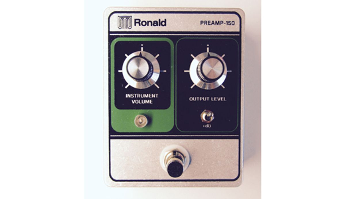 Mile End Effects Introduces the Ronald Preamp 150
