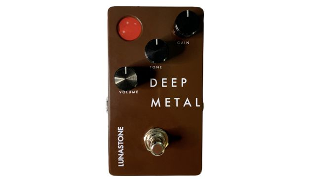 Lunastone Adds Infinite Power to the Table with Deep Metal Distortion Pedal