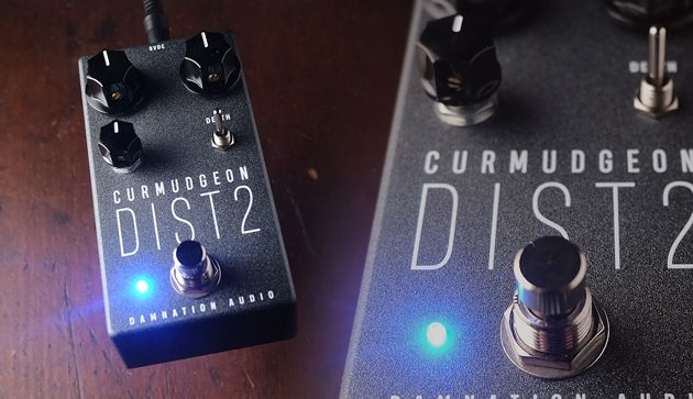 Damnation Audio Releases Curmudgeon 2 Bass Amp Distortion Pedal