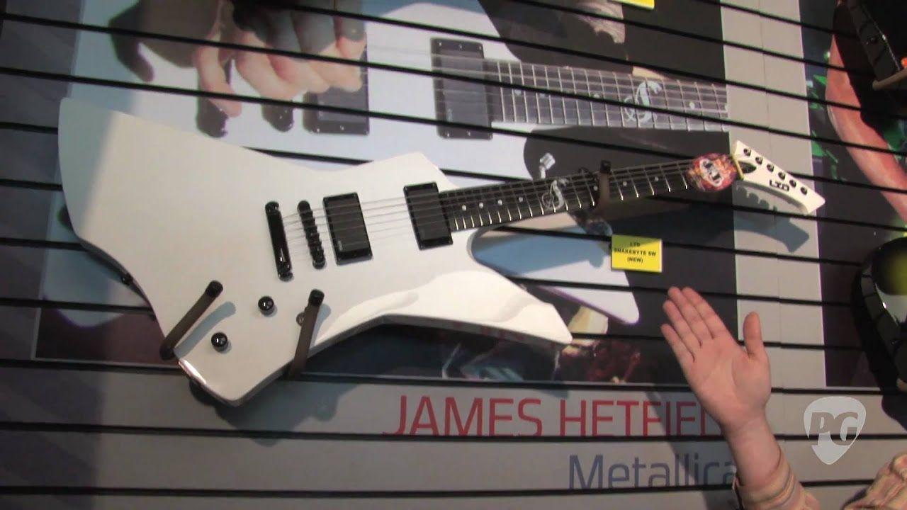 NAMM - ESP James Hetfield Snakebyte,Slayer Models