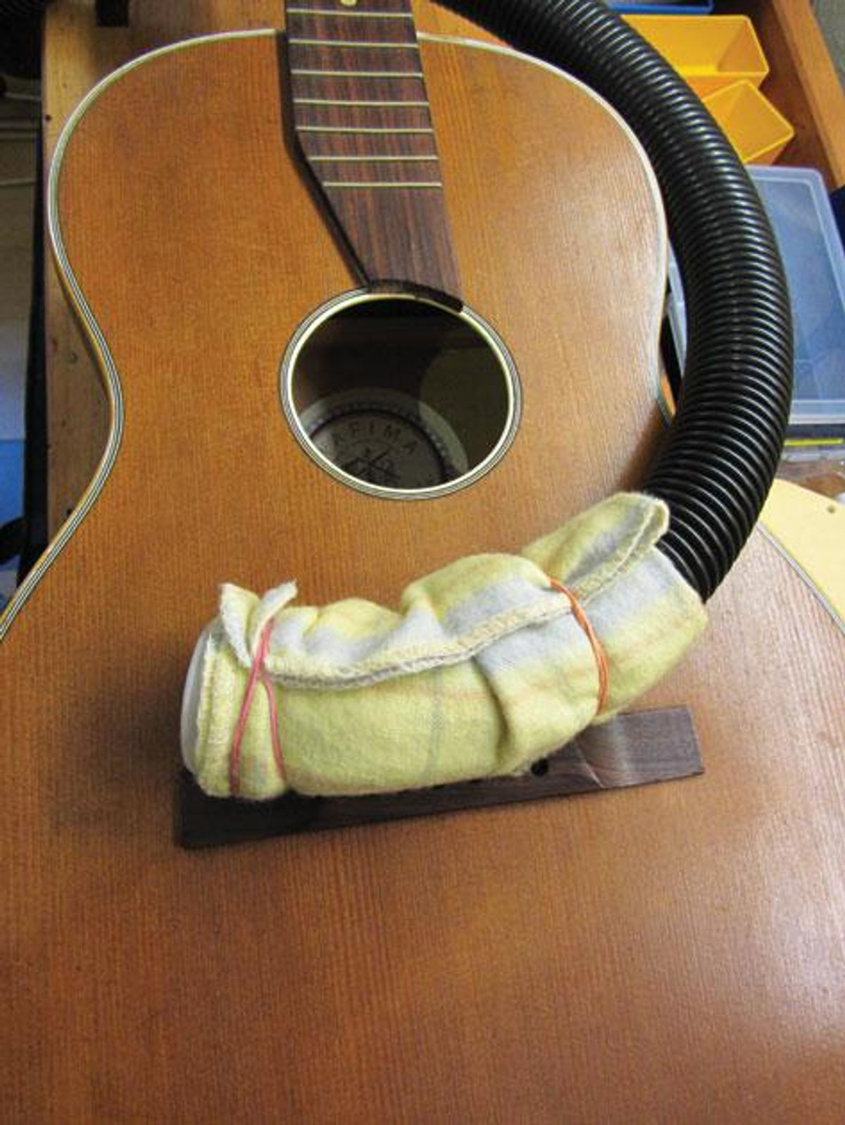 Cleaning Acoustic Guitar