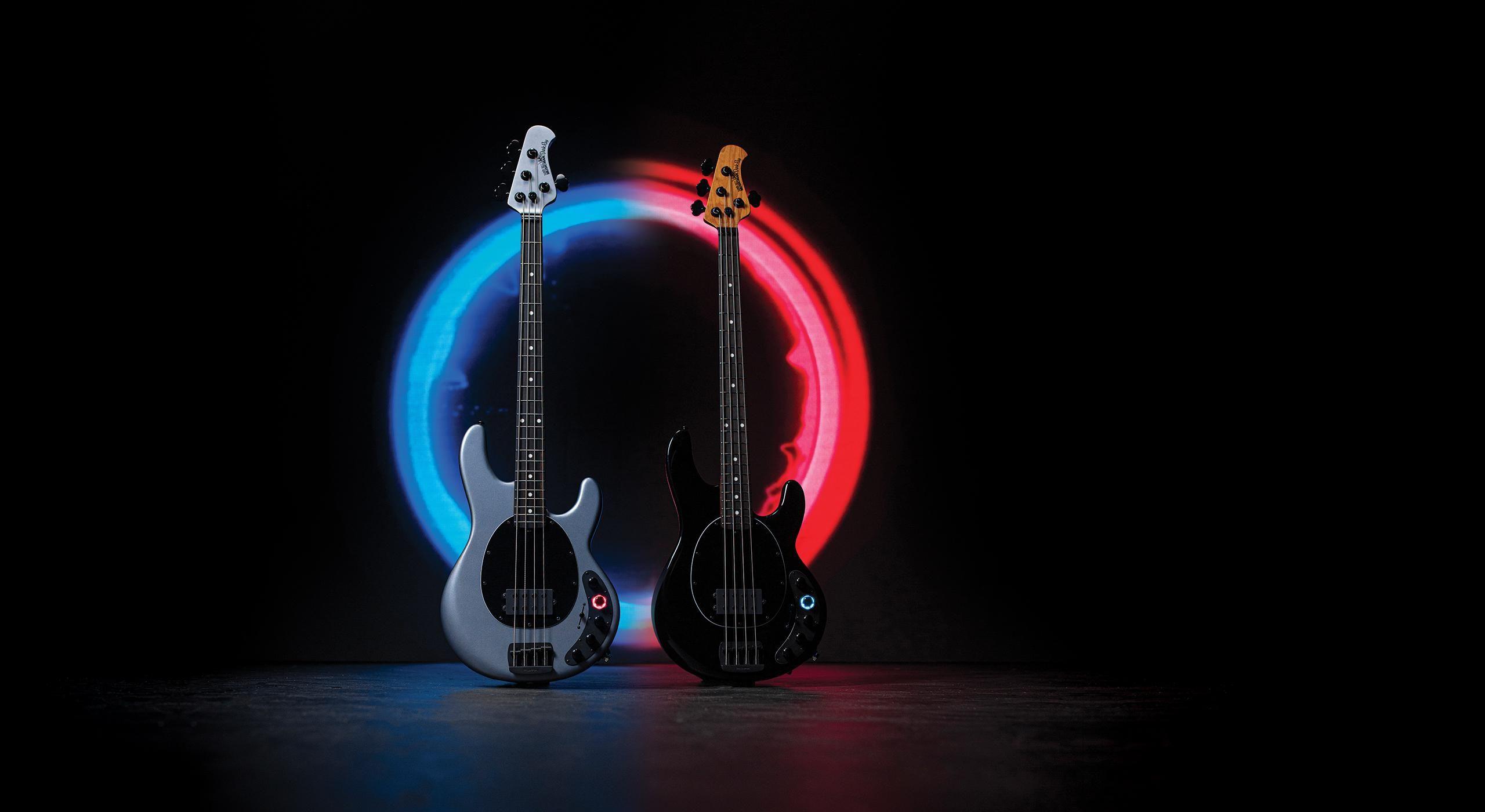 Ernie Ball Music Man Unveils the DarkRay Bass
