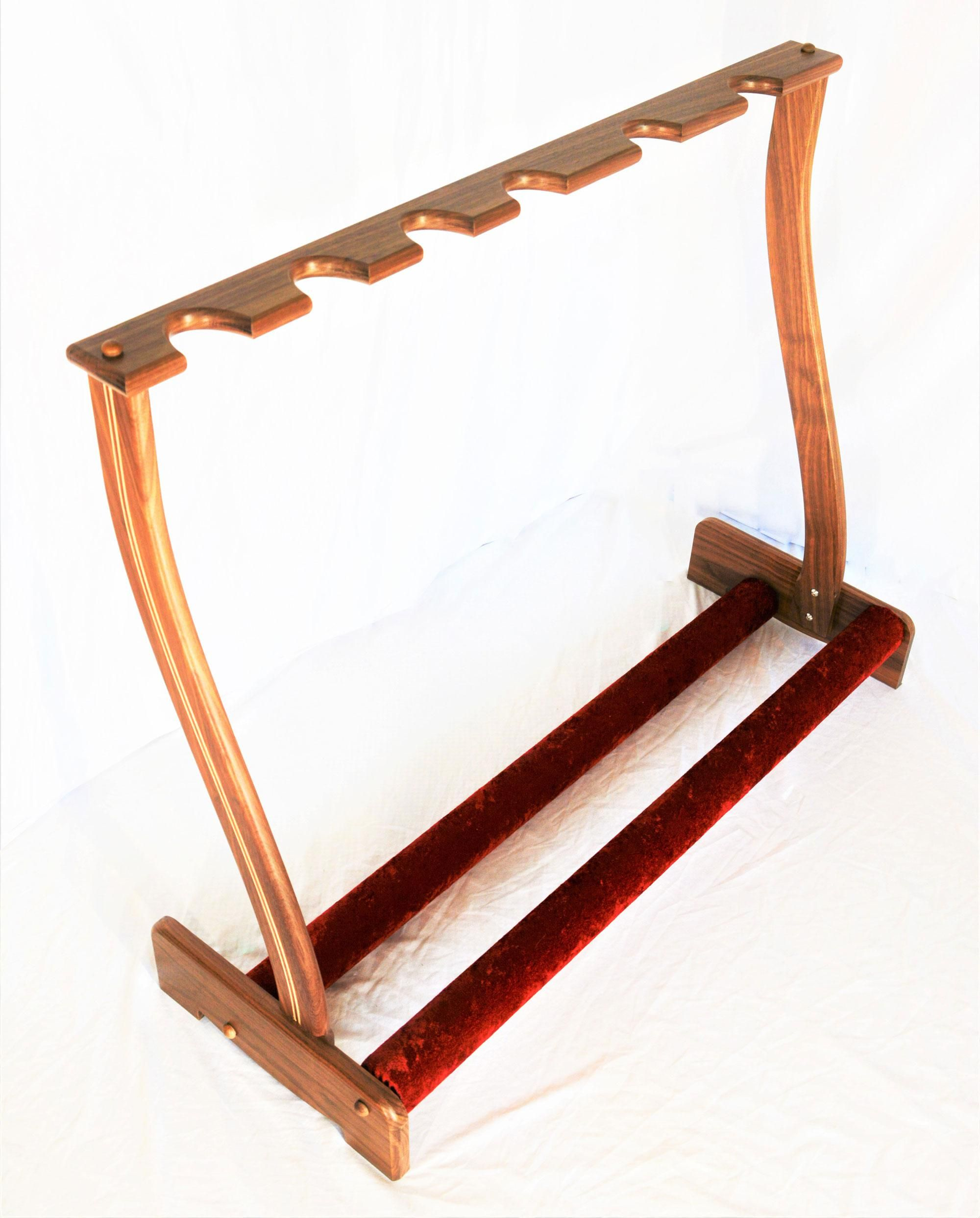 JBrent Woodworks Releases New Hybrid Guitar Stand