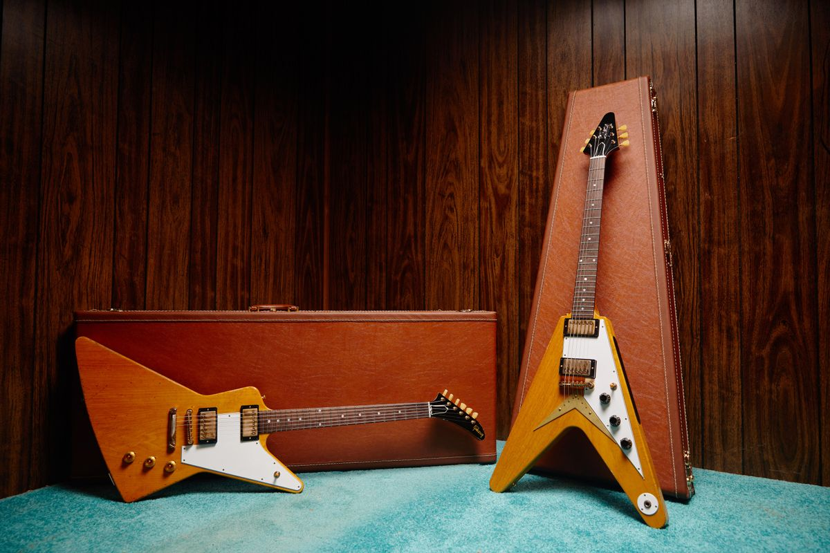 Gibson Releases Collector's Edition 1958 Flying V and Explorer