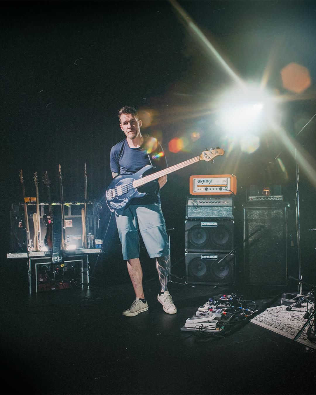 Ernie Ball and Tim Commerford Release Limited-Edition Basses