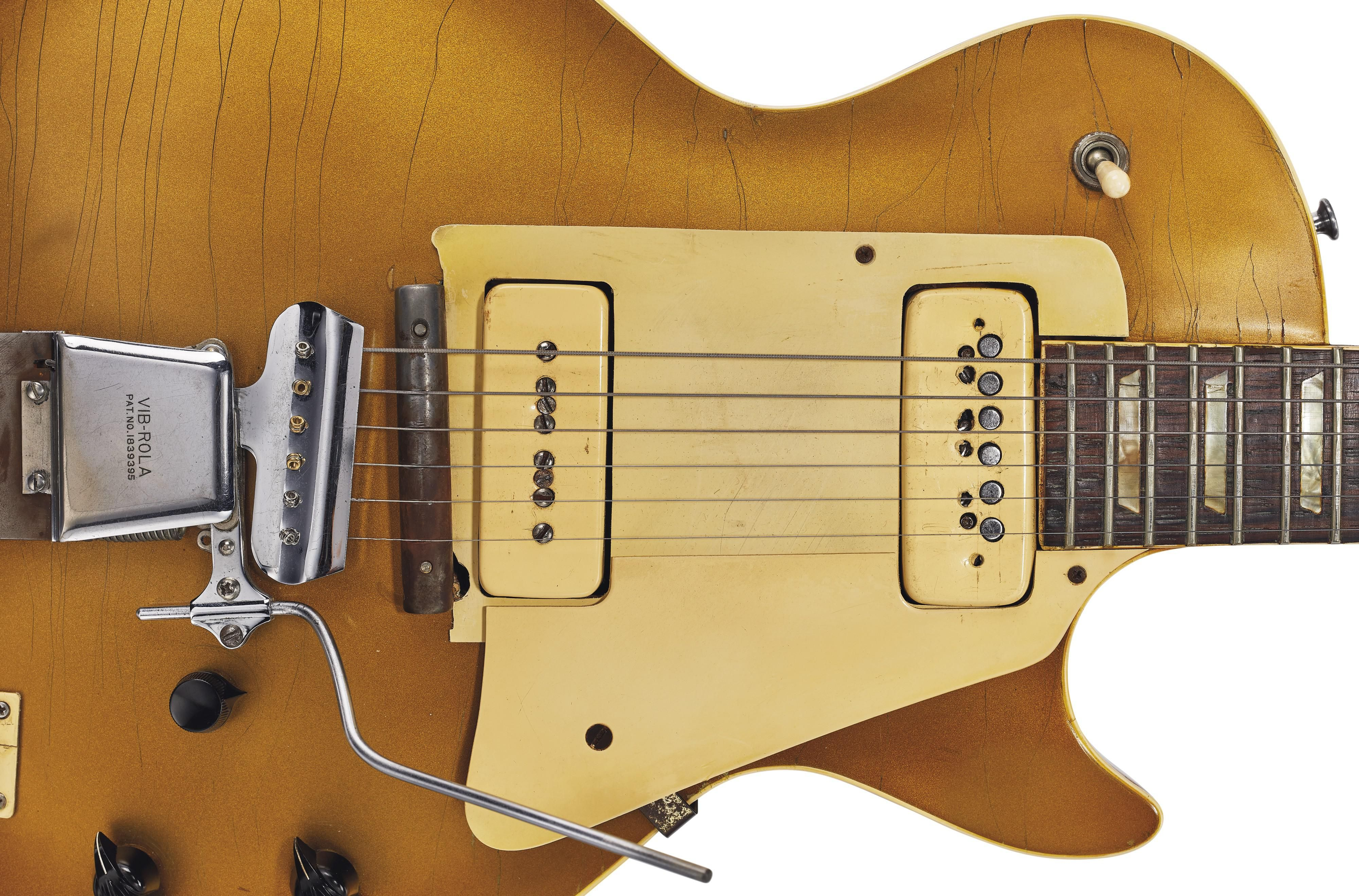 Les Paul's Number One Goes Up for Auction