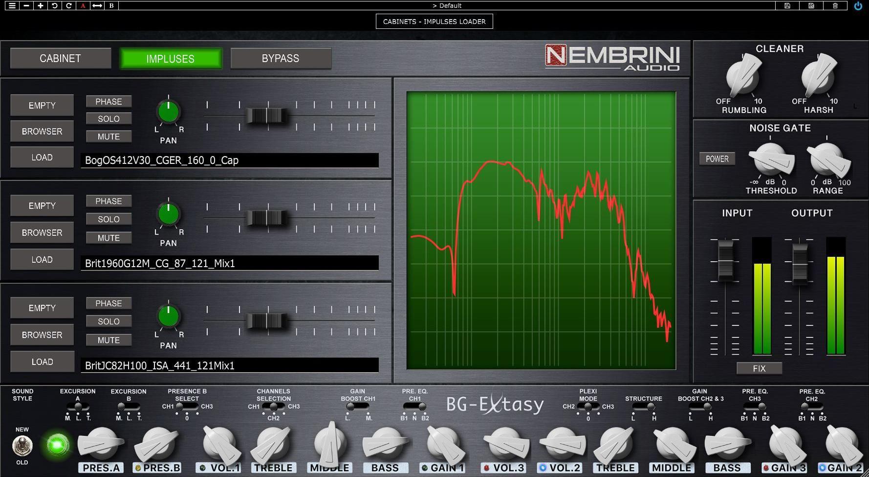 Nembrini Audio Unveils the BG Extasy Boutique Guitar Amplifier Plugin