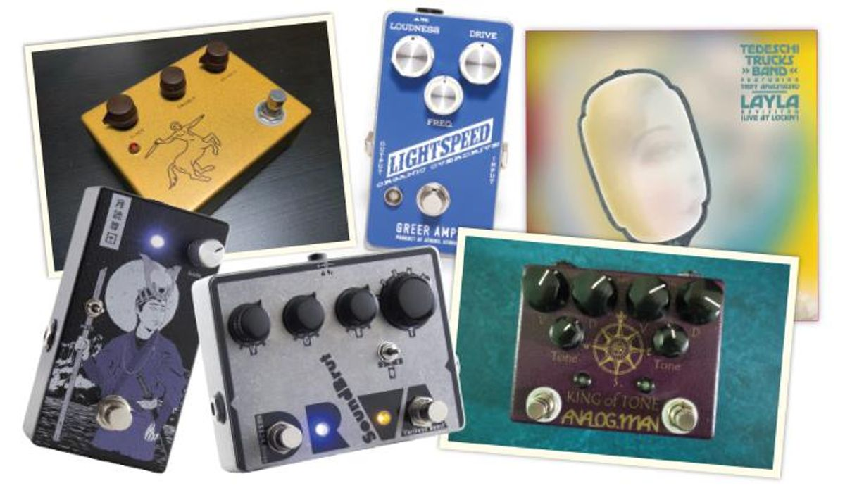 PG Editors on Their Favorite Overdrive/Distortion Pedals