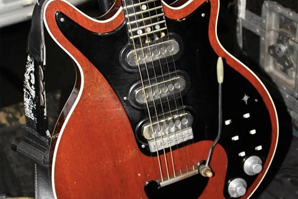 Mod Garage: Inside Brian May's Red Special