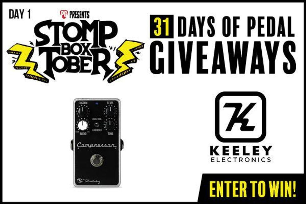 Stompboxtober Day 1: Keeley Compressor Plus