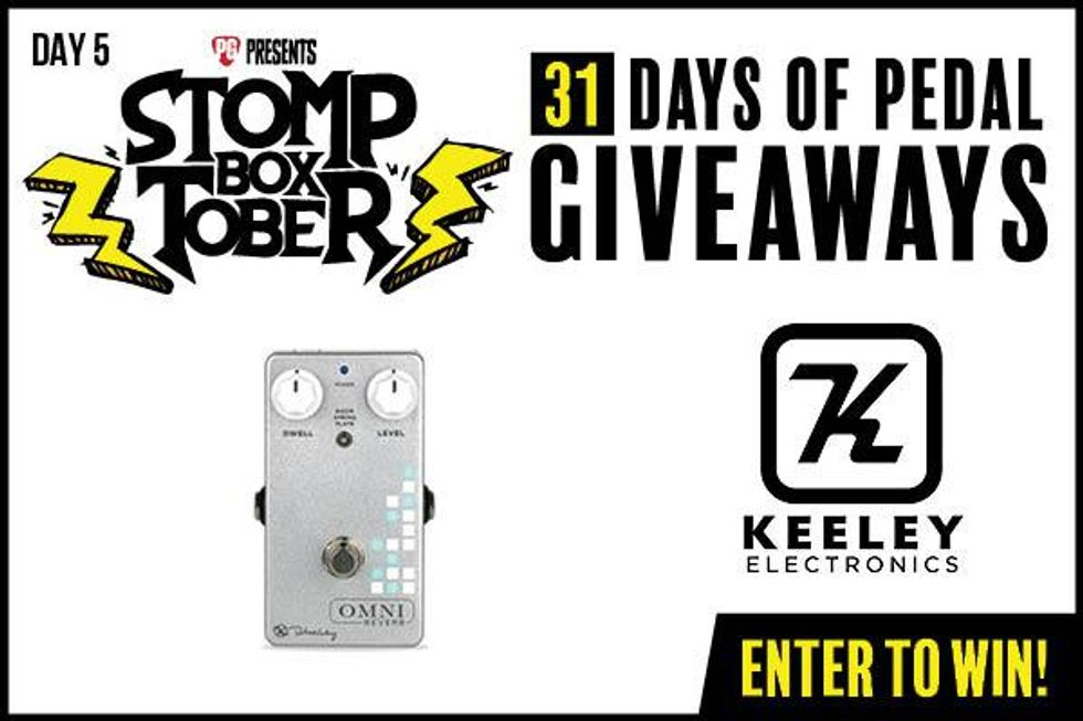 Stompboxtober Day 5: Keeley Omni Reverb