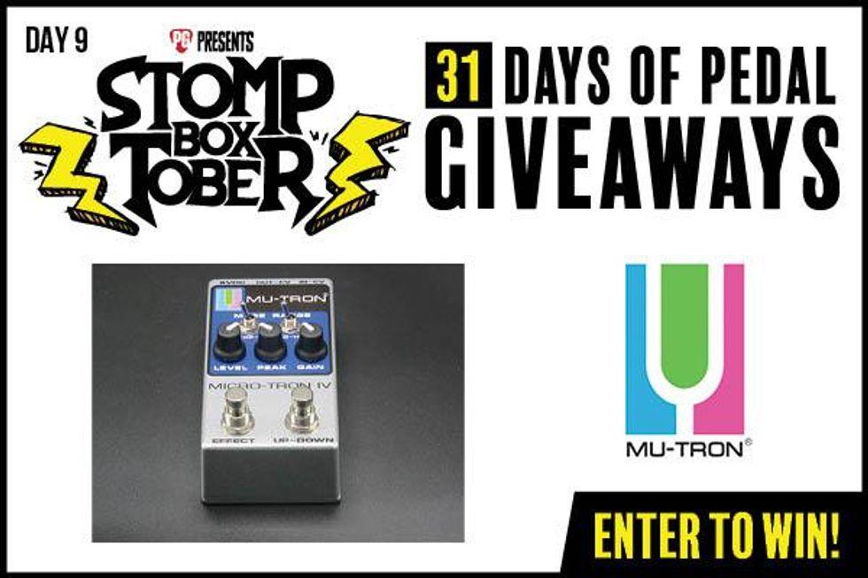 Stompboxtober Day 9: Mu-Tron Micro-Tron IV