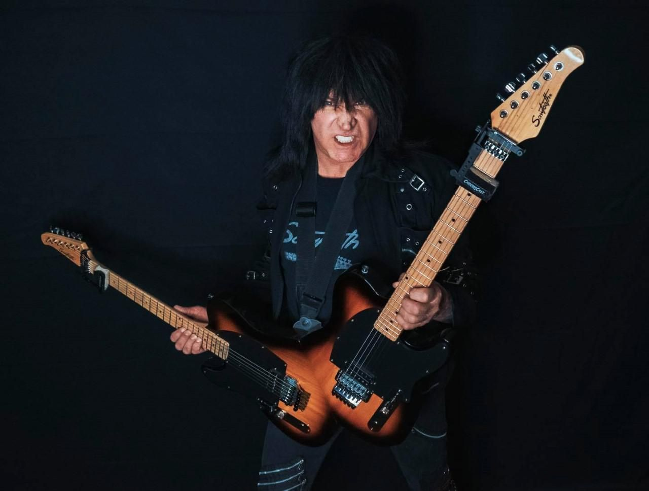 Michael Angelo Batio's Double Guitar Now Available From Sawtooth Guitars