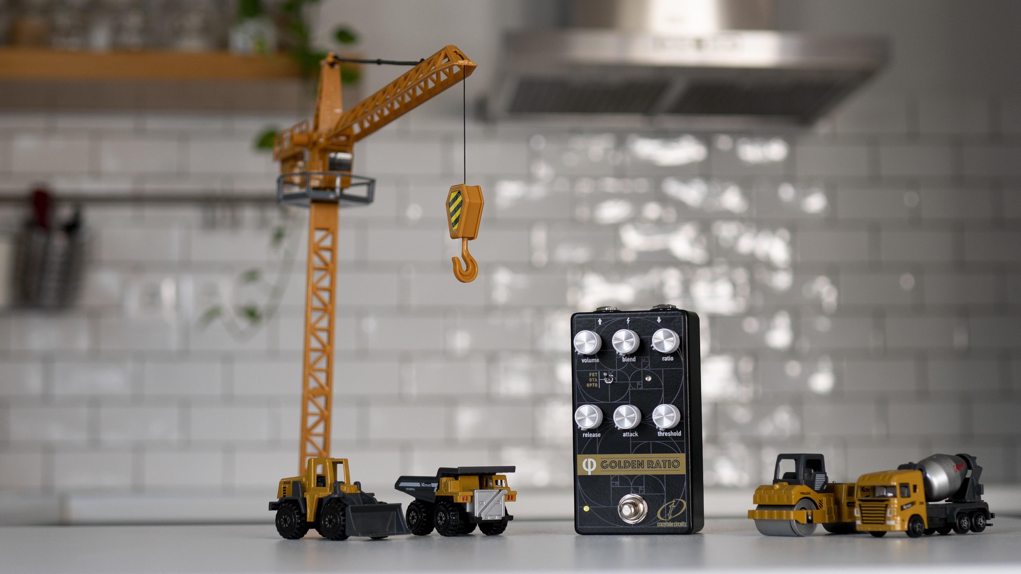 Crazy Tube Circuits Introduces the Golden Ratio Compressor V2