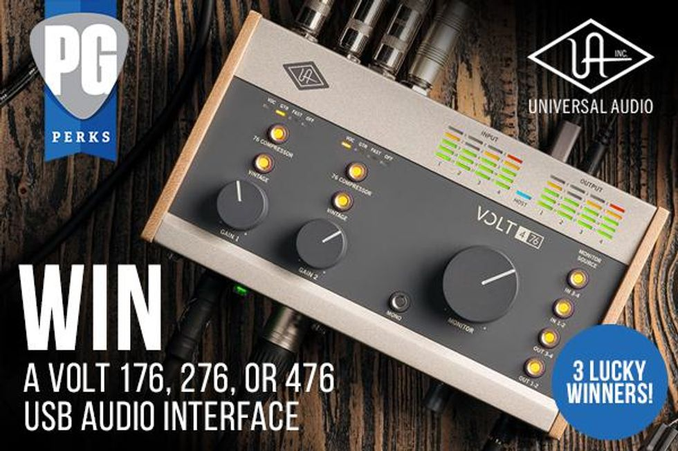 Universal Audio Volt Series Giveaway!