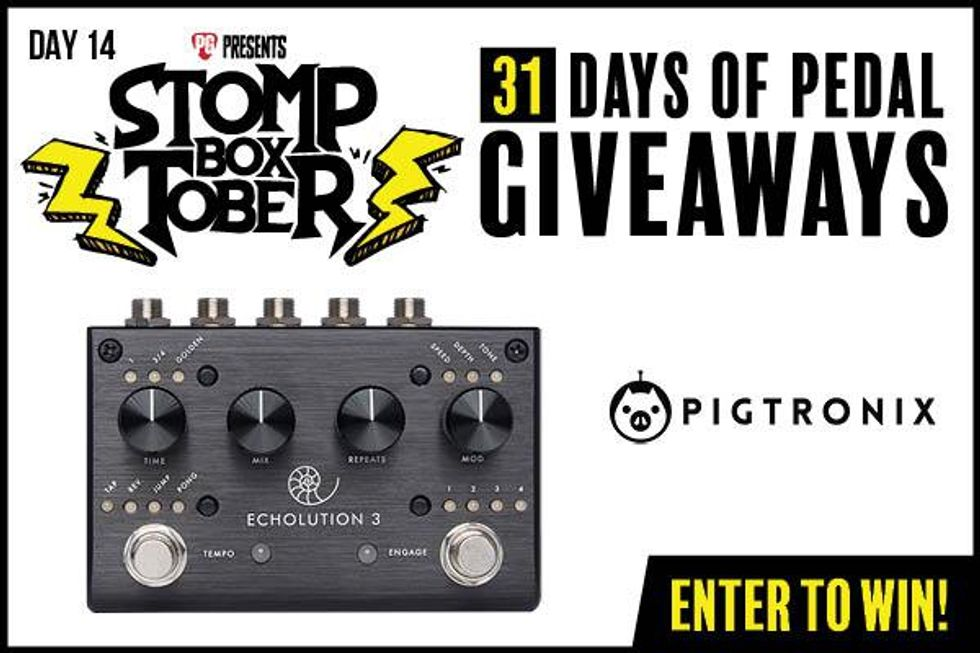 Stompboxtober Day 14: Pigtronix