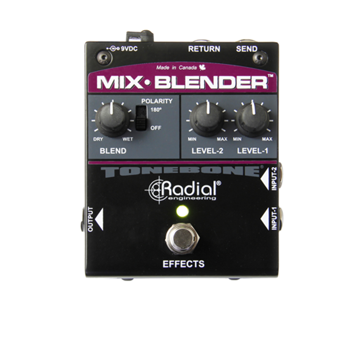 Radial Engineering Unveils the Mix-Blender