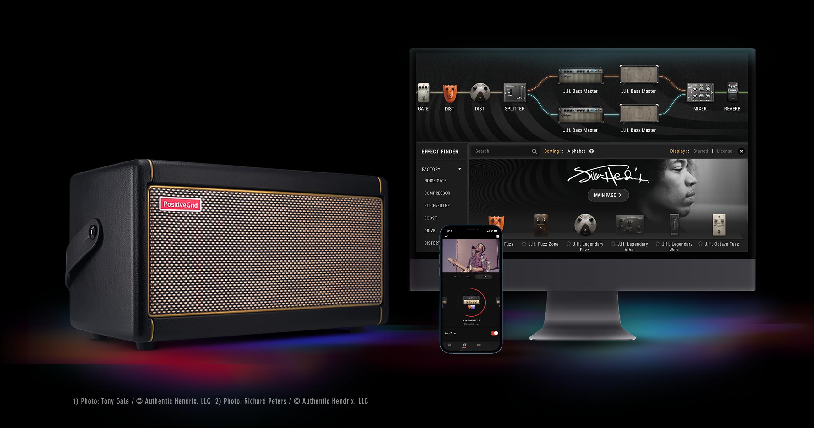 Positive Grid Announces Experience Jimi Hendrix Official Gear Collection -  Premier Guitar