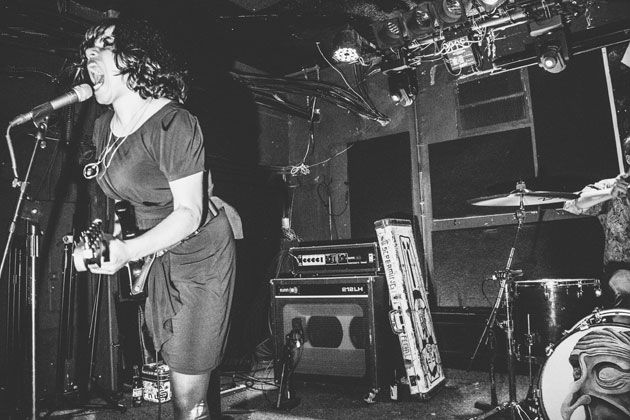"""Robot Killers: Screaming Females' Marissa Paternoster and """"King"""" Mike Abbate"""