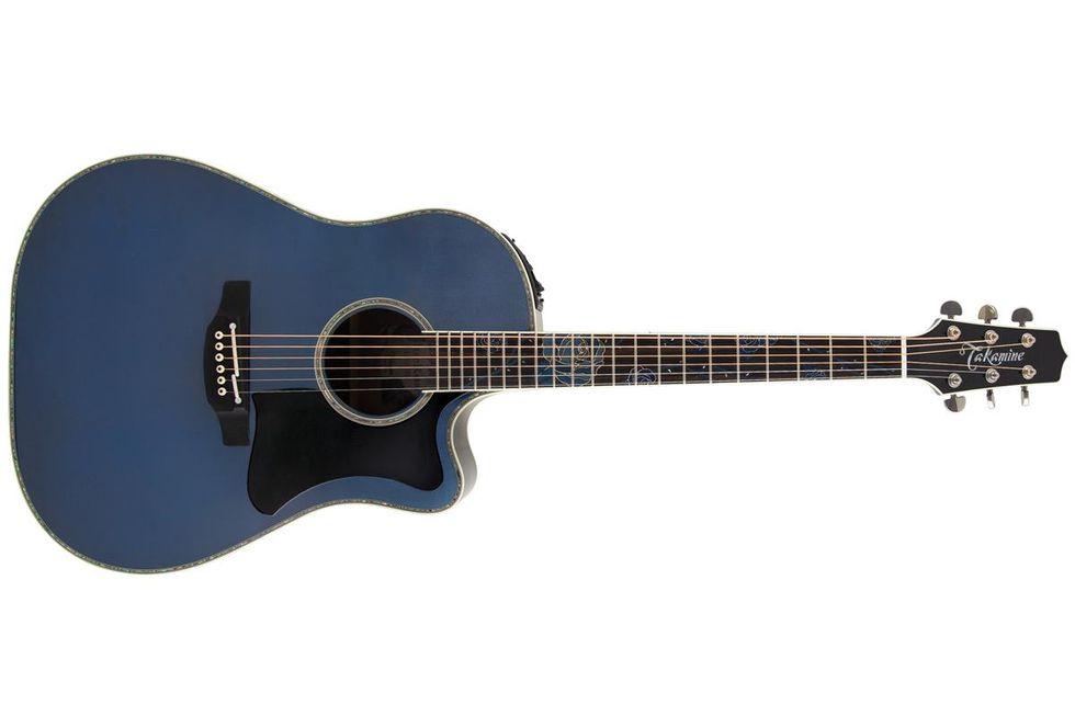 Takamine LTD 2021 Blue Rose