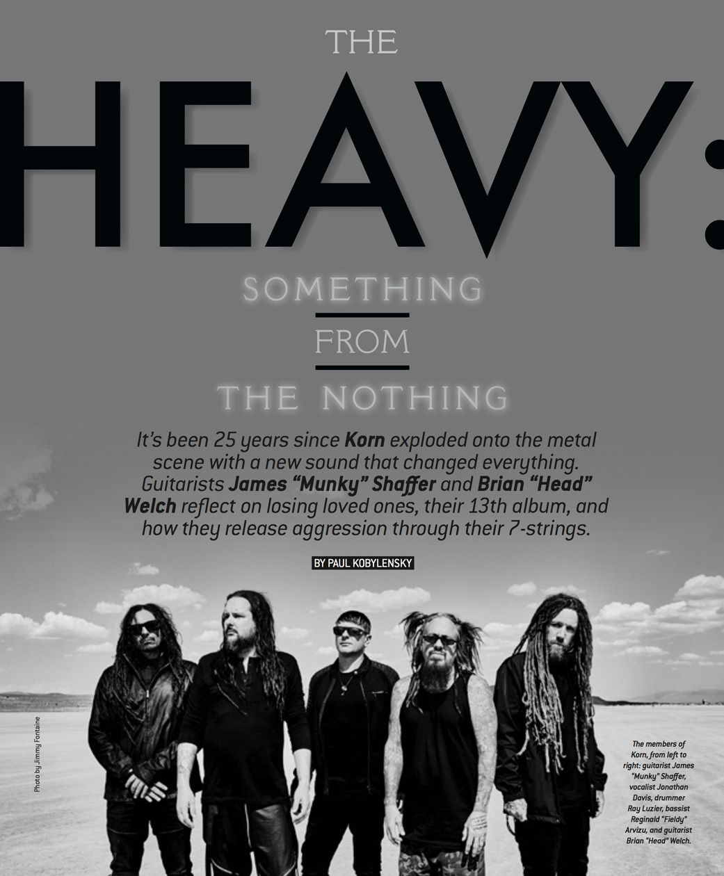 Korn's Head and Munky on Coping with Tragedy Through 7-Strings