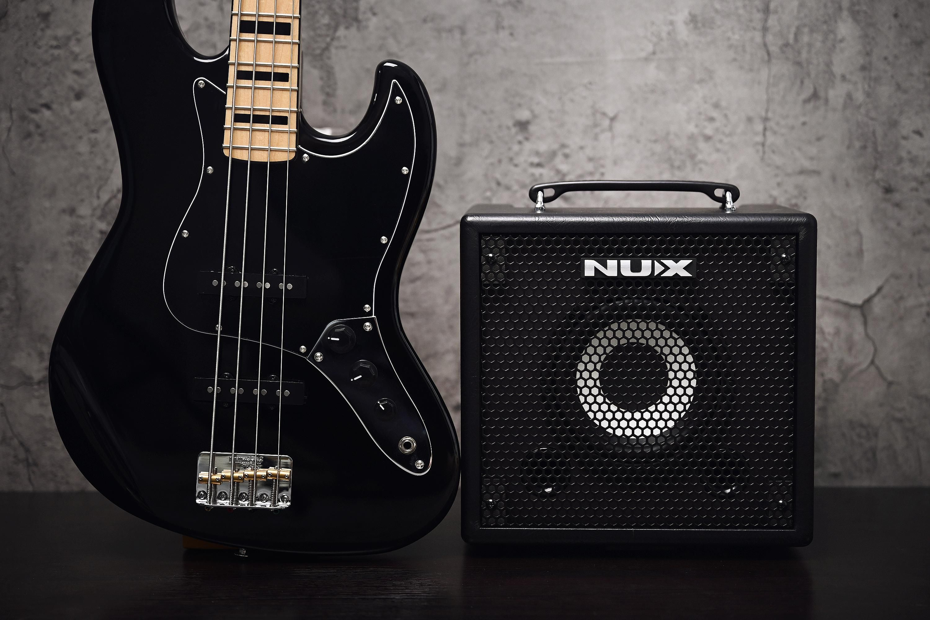 Nu-X Releases the Mighty Bass 50BT and Stageman II Amps