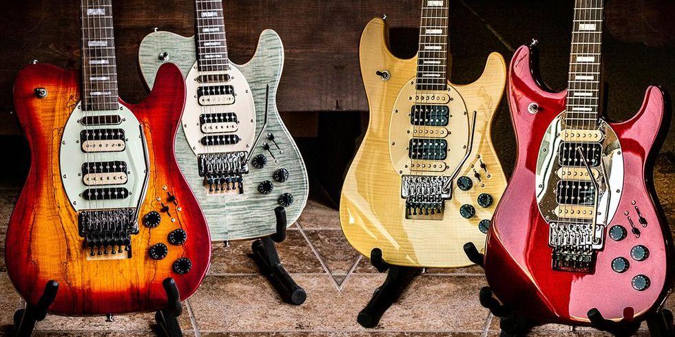 Sawtooth Guitars Announces Three New Guitar Lines