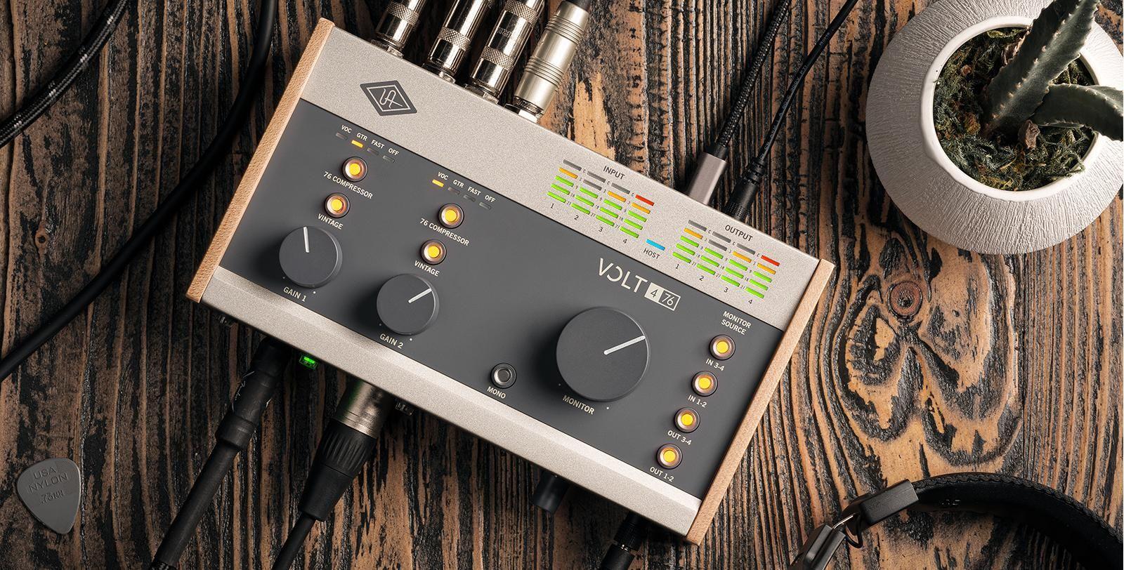 universal audio volt interface