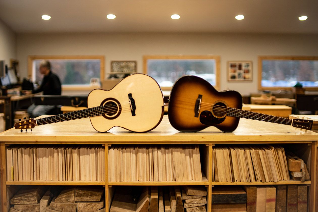 Acoustic Soundboard: The Shape of Things